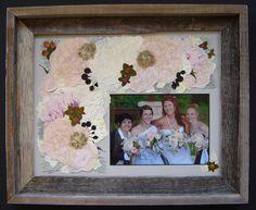 Wedding Flowers Preserved ~ Pressed Flower Art ~ Pressed Garden ~ Annie Fentz Smith ~ www.pressedgarden.blogspot.com
