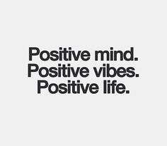 Positivity ROCKS!!!