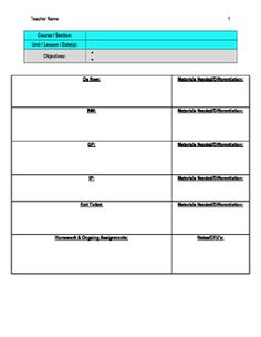 Word Explosion MiniUnit Day Lesson Plan With Rubric  Rubrics