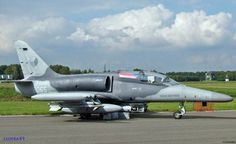 Aero L159 of the Czech Air Force at Belgian Air Force Days September 2014.