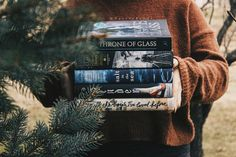 "taylorreadsbooks: ""Day five of #jinglemybooks: books the 'gram made you read. Bookstagram definitely influenced me to read these books. ❤ """