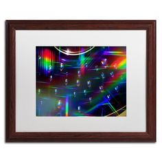 Rainbow Logistics I by Beata Czyzowska Young Matted Framed Photographic Print