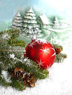 By Éphémeride seasonal calender Merry Christmas Wishes, Christmas Mood, Christmas Colors, Christmas Greetings, Vintage Christmas, Christmas Bulbs, Christmas Templates, Christmas Printables, Hello Kitty Natal