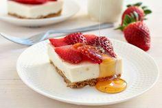 Strawberry Cheesecake Recipe ~ GOODIY