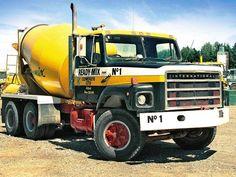 Concrete Mixers, Mix Concrete, International Harvester Truck, Vintage Trucks