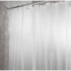 InterDesign PEVA 4.8 Shower Curtain Liner - Frost