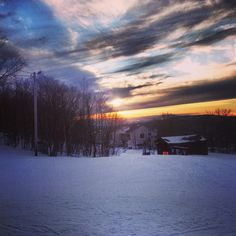 Sunset #boltonvalley