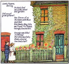 Raymond Briggs - Ethel & Ernest A True Story (about his father and mother) - Ethel's parents' home (p.6) (2 of 19)