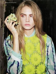 """Cara Delevingne in """"Go to Sleep Things Will be Better in the Morning"""" photographed by Angelo Pennetta for i-D, Winter 2012"""