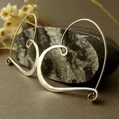 Heart hoops from one of my favorite Etsy sellers.