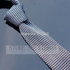 Knitted Ties Tuexdo Neck Tie Men's Necktie Solid White Black Polyester  Wool Cravat High Quality #Affiliate