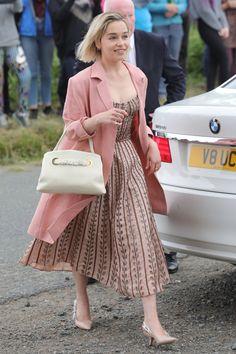 Emilia Clarke attending Kit Harington and Rose Leslie's Wedding on 23rd June 2018