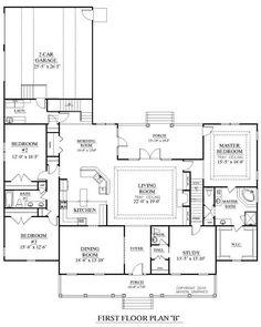 house plan 8318-00044 - traditional plan: 2,148 square feet, 4