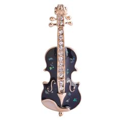 Blucome Unique Music Violin Brooches For Women Enamel Esmalte Crystals Broches Scarf Hijab Clips Coat Shirt Sweater Pins Corsage Enamel Jewelry, Jewelry Sets, Jewelry Accessories, Women Jewelry, Fashion Jewelry, Gold Jewelry, Crystal Brooch, Crystal Rhinestone, Corsage