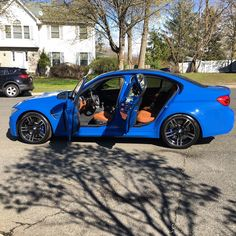 2016 M3 F80 Individual Santorini blue/ Amaro brown.P&B. F80 M3, Bmw M4, Audi Cars, Car Car, Santorini, Super Cars, Transportation, Automobile, Bike