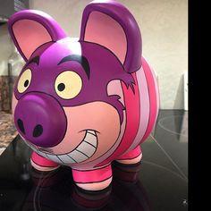 Large Piggy Bank, Summer Arts And Crafts, Personalized Piggy Bank, Martha Stewart Crafts, Flying Pig, Disney Junior, Star Wars Luke Skywalker, Amazing Spider, Hand Painted Ceramics