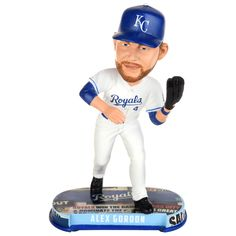 uk availability 582a2 c10d4 Alex Gordon (Kansas City Royals) 2017 MLB Headline Bobble Head by Forever  Collectibles