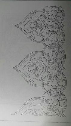 Folk Embroidery, Hand Embroidery Designs, Embroidery Patterns, Islamic Art Pattern, Pattern Art, Mehndi, Henna, Mandala, Arabesque Pattern