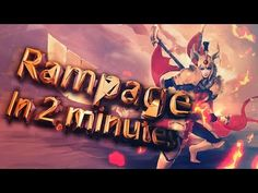 dota 2 rampage in 2 minutes