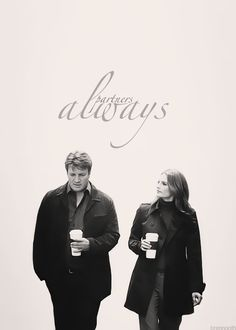 Beckett and Castle: I can't wait for this to come back on. It is suppose to have more humor like season 1. Yeah!