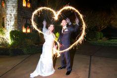We heart sparkler art!