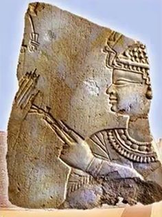 Relief of the kandake  of the Meroe Kingdom, Amanishakheto