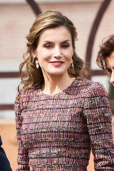 Queen Letizia attends a Working meeting at Royal Board on Disability