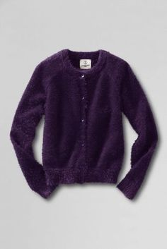 Girls' Cozy Cardigan from Lands' End