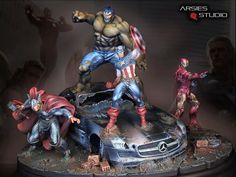 Avengers! final pics | Arsies Studio Blog