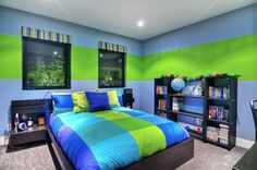 Bright Kids Room Ideas Boys