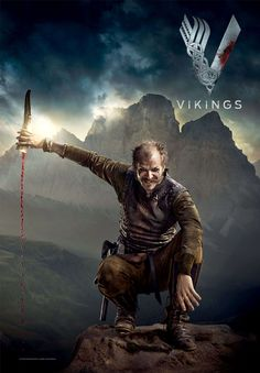 "Vikings S2 Gustaf Skarsgard as ""Floki"""