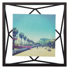 "BuyUmbra Prisma Photo Frame, Black, 4 x 4"" (10 x 10cm) Online at johnlewis.com"