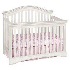 "Truly Scrumptious Curved Lifetime Convertible Crib - Cloud - Heidi Klum - Babies ""R"" Us"
