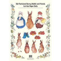 Bunny Family Paper Dolls