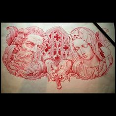 Lessons That Will Get You In The arms of The Man You love Tattoo Design Drawings, Tattoo Sleeve Designs, Tattoo Sketches, Sleeve Tattoos, Chest Piece Tattoos, Pieces Tattoo, Chest Tattoo, Graffiti Tattoo, Religous Tattoo