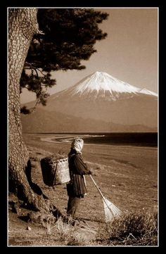 firsttimeuser: THE FUEL GATHERER UNDER MT. FUJI via/by Okinawa Soba some posts just disappeared from the dash..