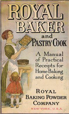 Vintage Cookbook - Royal Baker and Pastry Cook