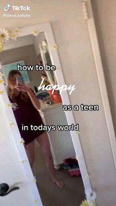 Teen Life Hacks, Life Hacks For School, Useful Life Hacks, Girl Advice, Girl Tips, Life Hacks Every Girl Should Know, Self Confidence Tips, Feel Good Videos, Glow Up Tips