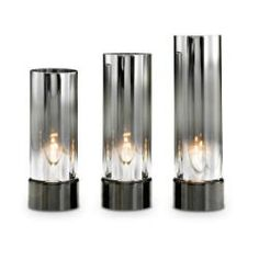 Reflective Tealight Cylinders by Partylite