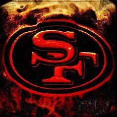 Nation SF Niners San Francisco Niners for Life! Niners Girl, Sf Niners, Forty Niners, Nfl 49ers, 49ers Fans, Nfl Football, 49ers Pictures, Football Pictures, 49ers Nation
