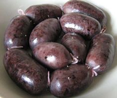 boudin antillais Aesthetic Food, Sausage Recipes, Charcuterie, Street Food, Entrees, Spicy, Meat, Pork, Cooking