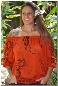 Wahine Toa top... I think I have Merrie Monarch fever...