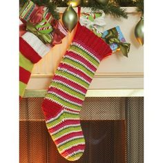 Crochet Stocking | Christmas In July | Free Pattern | New Pattern |  Lily Sugar 'n Cream