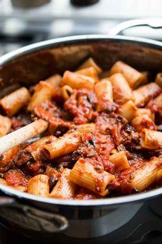 Pasta Puttanesca recipe