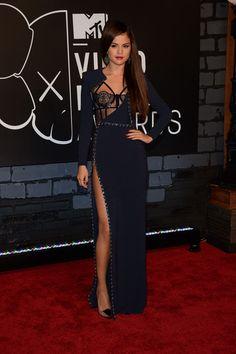 Selena Gomez in Versace at the 2013 MTV VMAs - Best & Worst Dressed at the MTV VMAs 2013 - StyleBistro