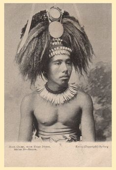 High Chief with Head Dress, Kerry Sydney