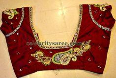 Spring Work Saree Blouse Designs | Saree Blouse Patterns