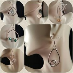 Earrings by Mikki'sJewelryCreations