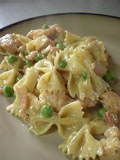 Honey Mustard Pasta with Chicken: Another family favorite.