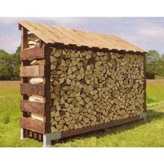 You want to build a outdoor firewood rack? Here is a some firewood storage and creative firewood rack ideas for outdoors. Lots of great building tutorials and DIY-friendly inspirations! Outdoor Firewood Rack, Firewood Shed, Firewood Storage, Gazebo With Fire Pit, Fire Pit Backyard, Log Shed, Small Fire Pit, Easy Fire Pit, Fire Pit Decor
